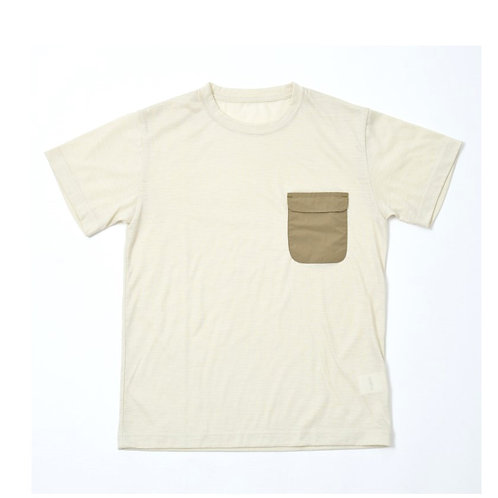 BISHU TEE / LIGHT BEIGE