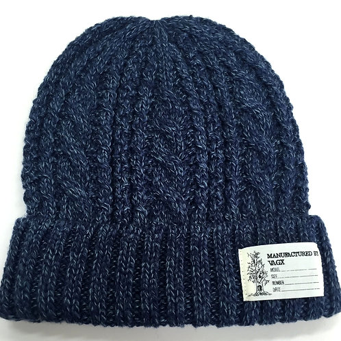 CABLE BEANIE / NAVY