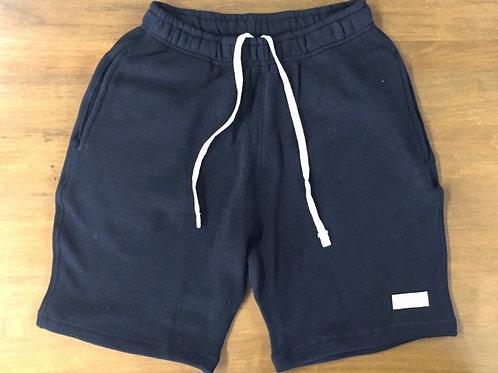 BASIC SWEAT SHORT PANTS / BLACK