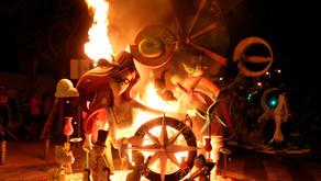 Sant Vicent aprova la convocatòria de subvencions per a la construcció de monuments de fogueres 2021