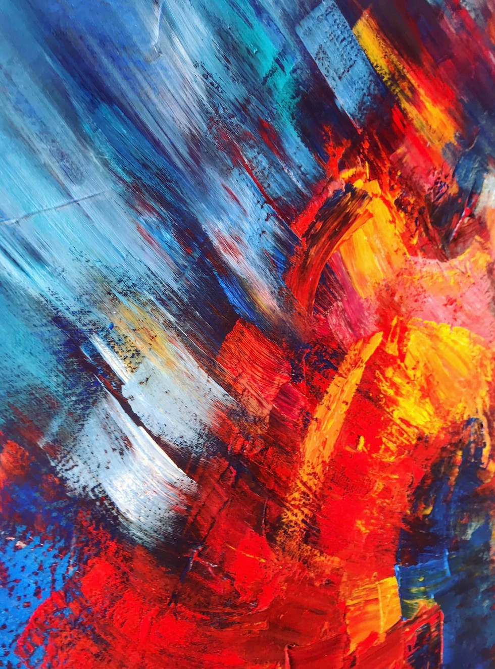 Kate Wyrembelska - Swimmers - paintings_9042.JPG