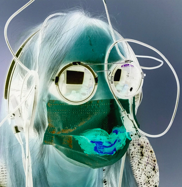 maquillage pandémique par KW Kate Wyrembelska