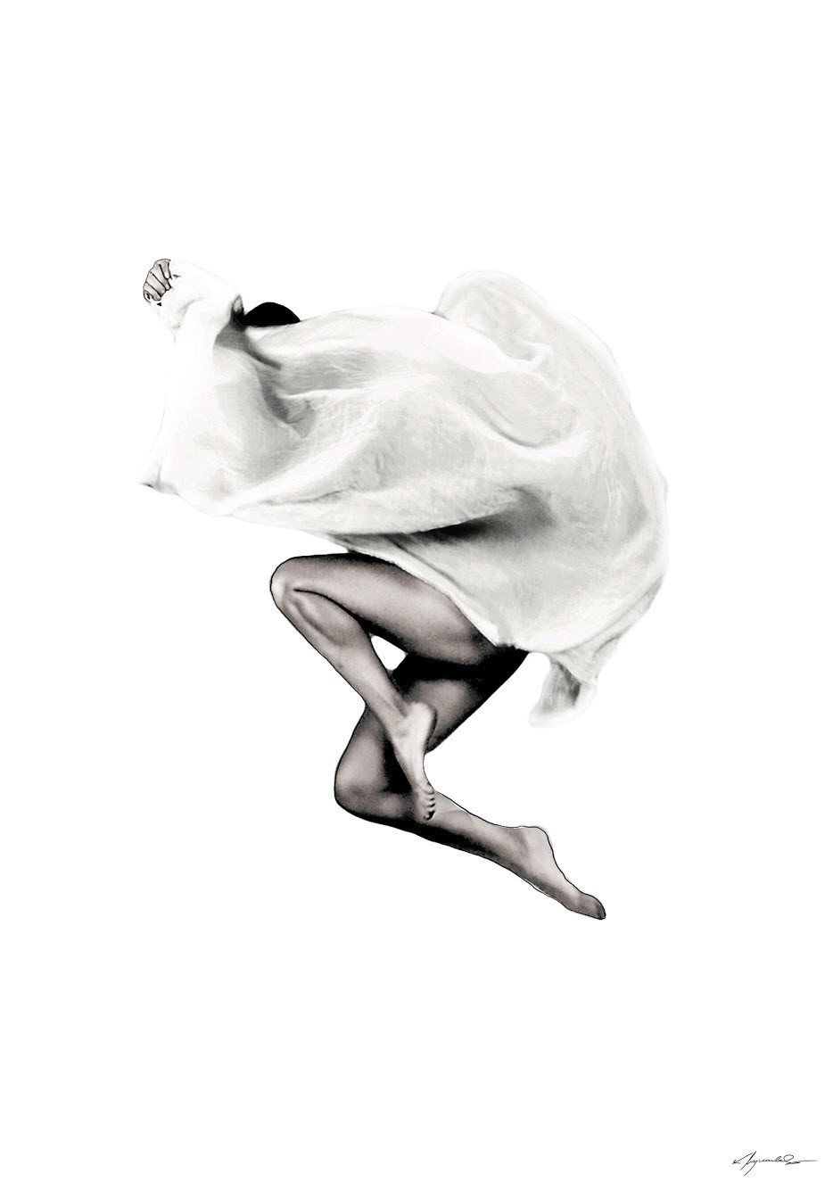 Kate Wyrembelska - Swimmers - photographics