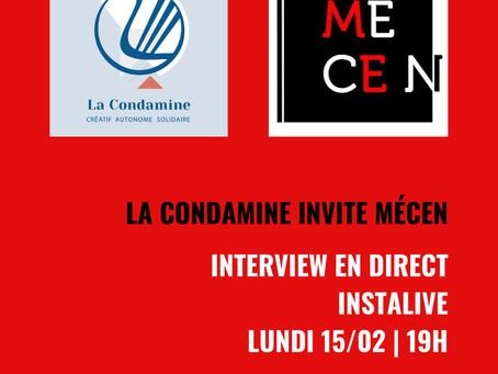 INSTALIVE : La Condamine invite Mécen