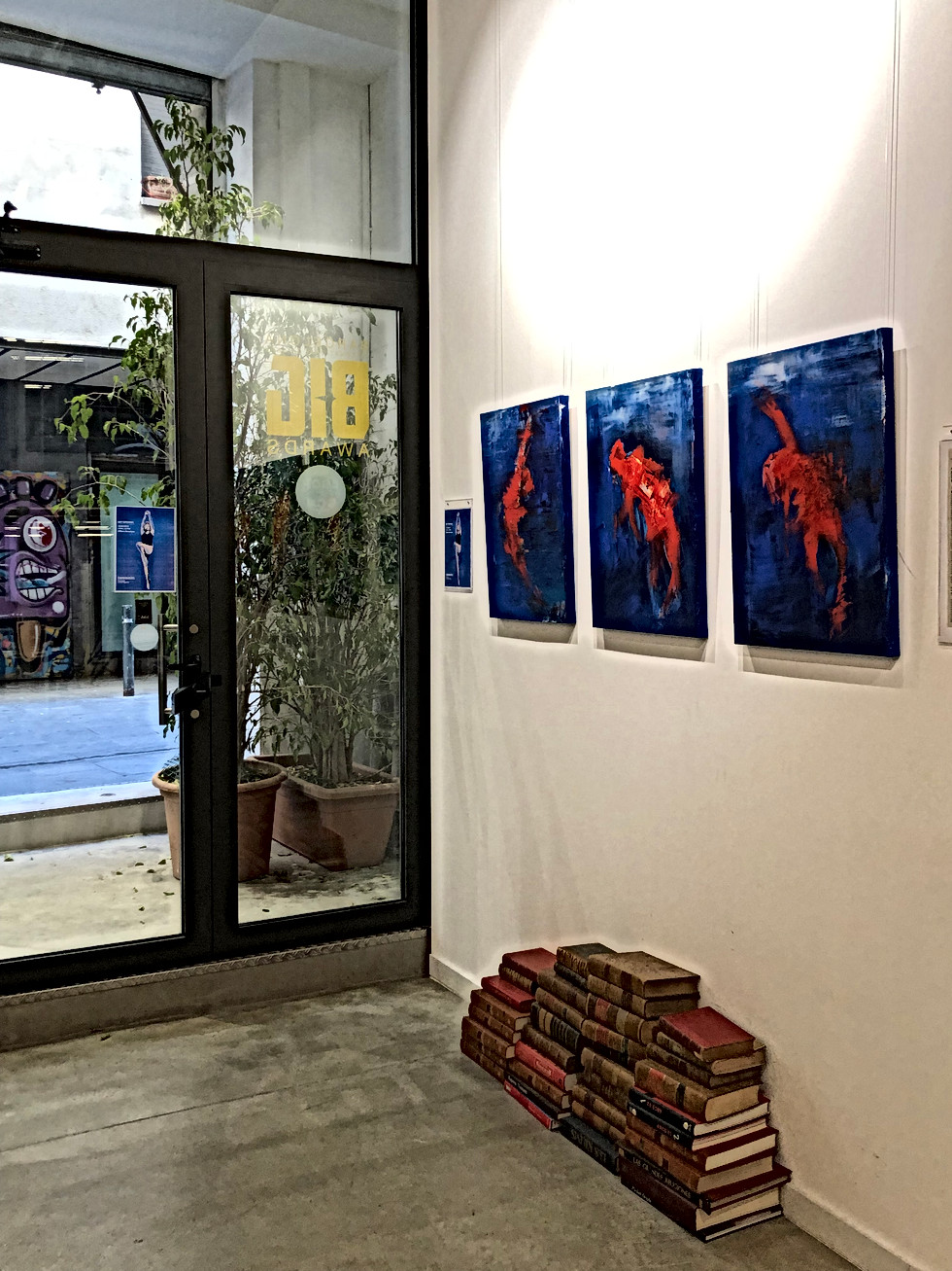 Kate Wyrembelska - Swimmers - SOLO SHOW - CAGE Contemporary Art Gallery in Barcelona