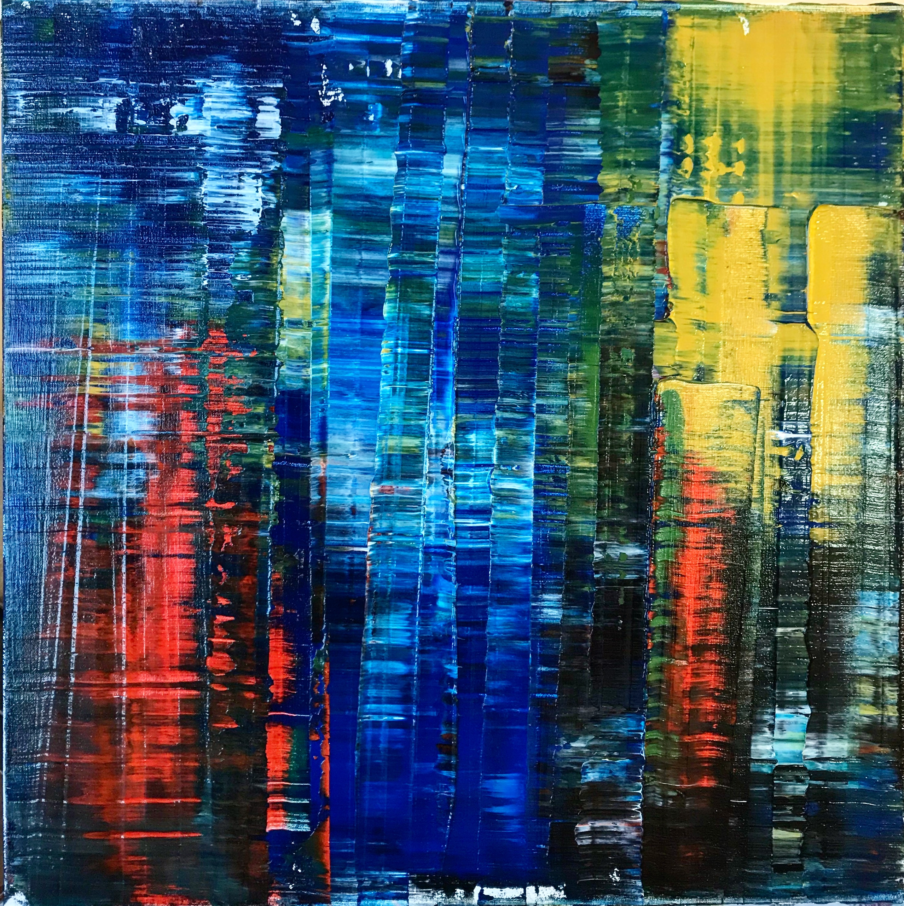 Abstract Paintings by Wyrembelska