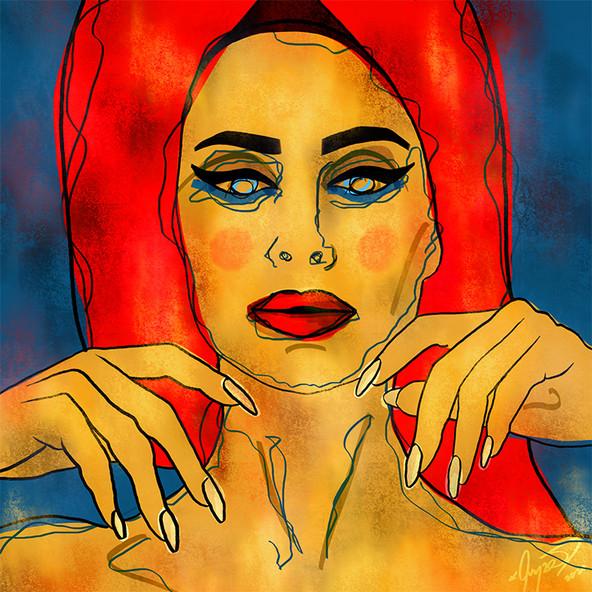 Insta Beauty Digital Art