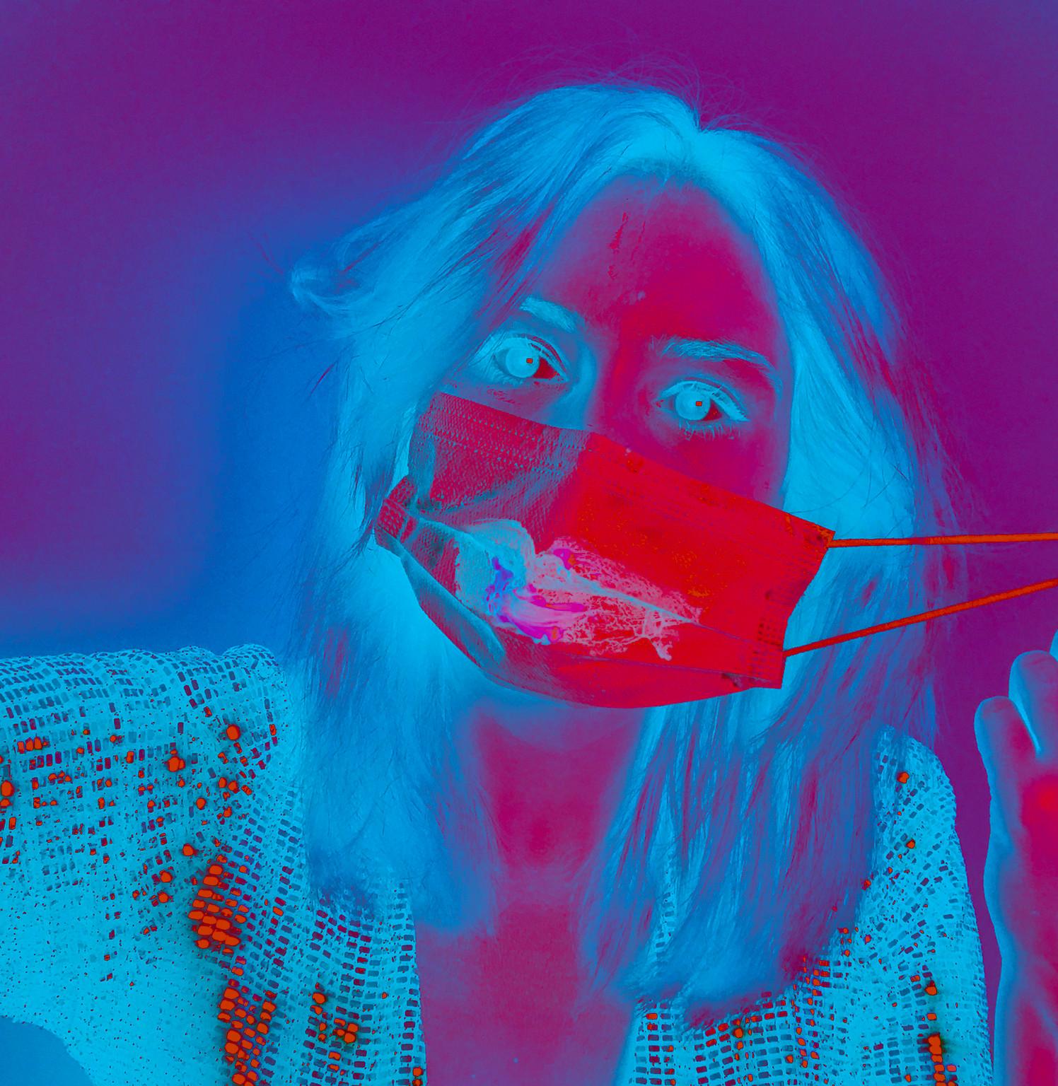 pandemic make-up by KW Kate Wyrembelska