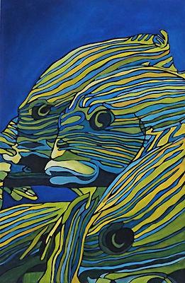 Yellow stripes 40x27 Florence Tedeschi.JPG