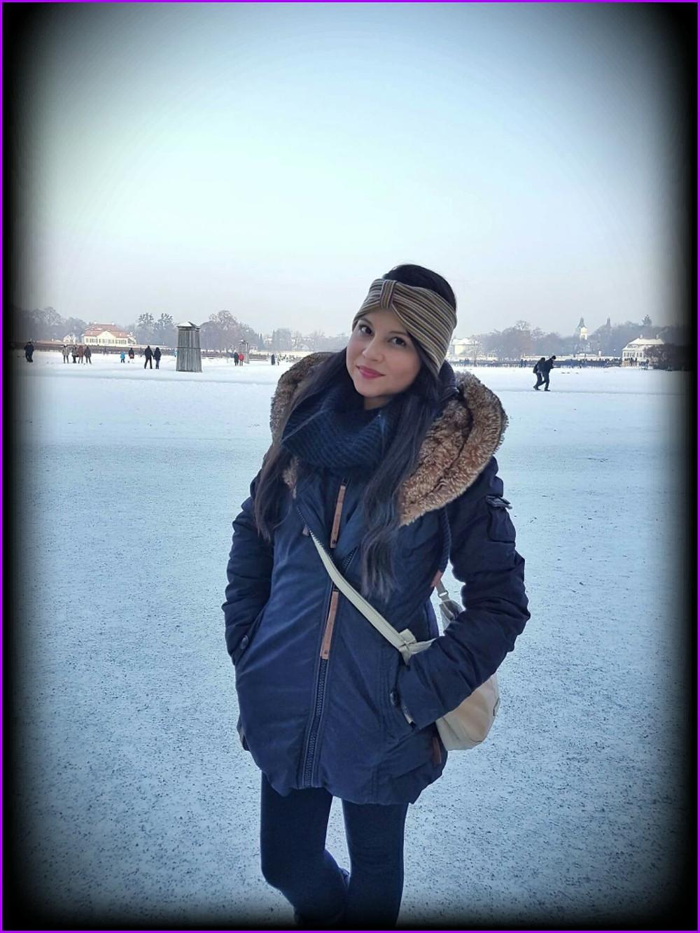 Andrea en invierno 2017