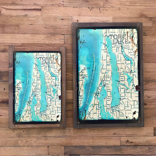 Rustic Torch Lake Maps