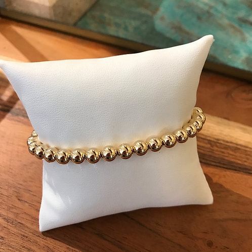 enewton Classic Gold Filled 6mm Bead Bracelet