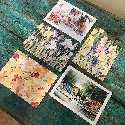 Set of 5 Variety Notecards