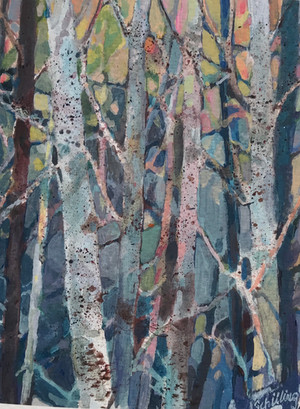 Trees at Sunset 1