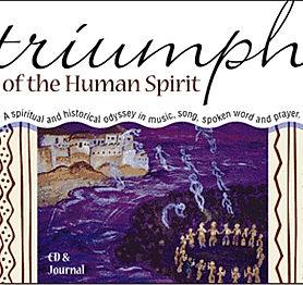 Triumph of teh Human Spirit CD cover