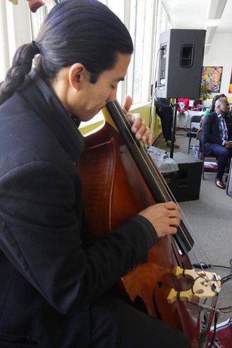 Chico Lopez - upright bass