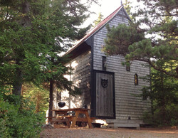 2 Story Camping Cabin