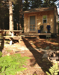 Cabin Rental in a Wooded Setting