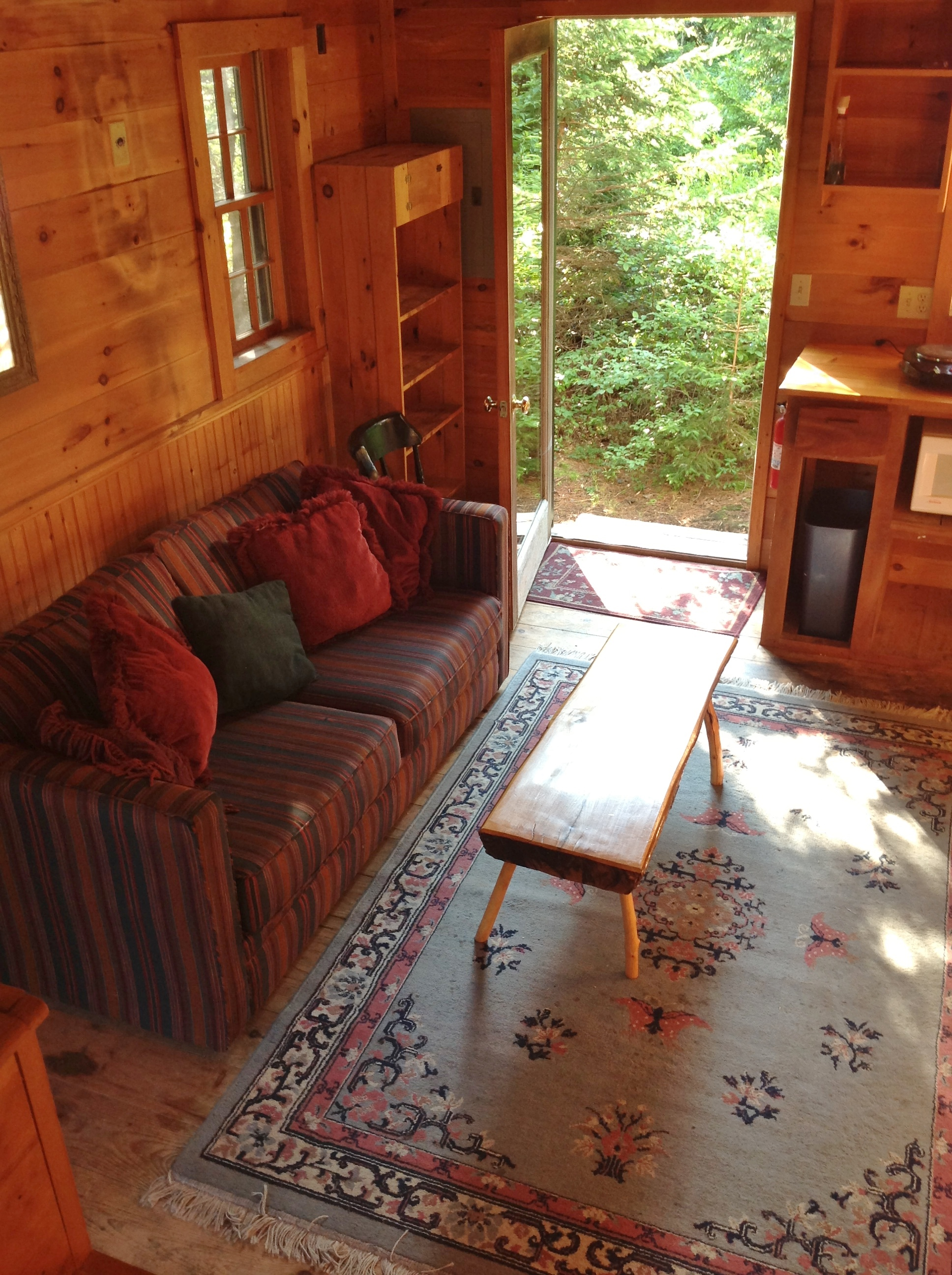 2 Story Cabin Interior