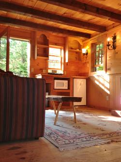 Cabin Interior Kitchen