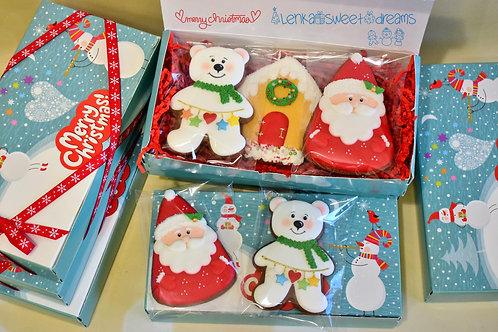 Χριστουγεννιάτικα μπισκότα gingerbread.