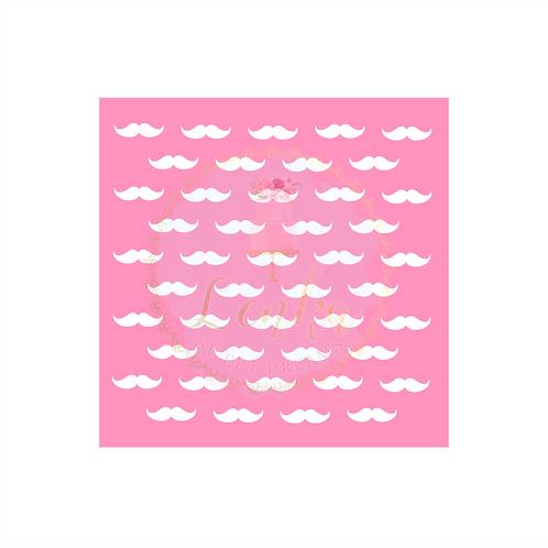 Στένσιλ μουστάκια.