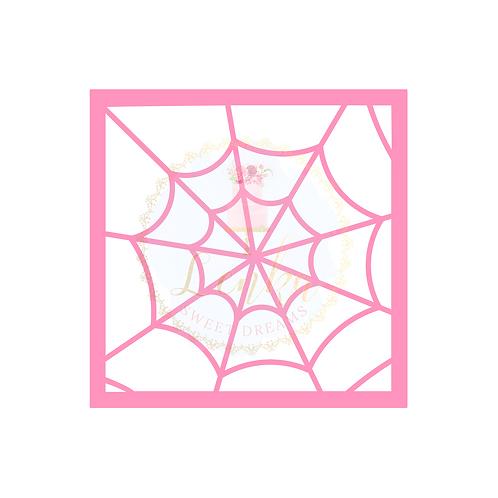 Στένσιλ ιστός αράχνης.