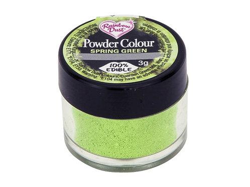 Χρώμα σε Σκόνη - Ανοιχτό έντονο Πράσινο - (Spring Green).