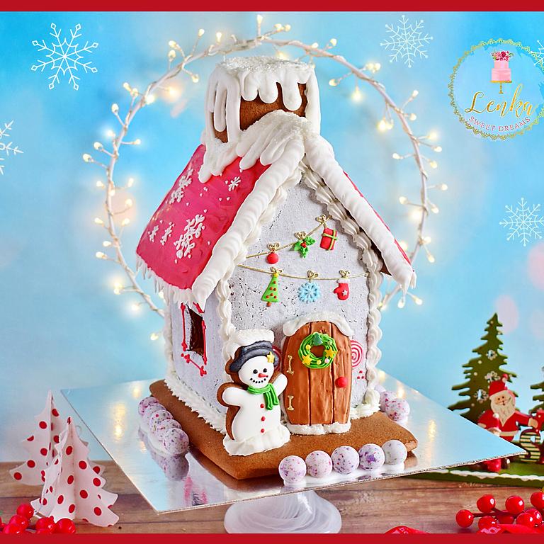 Σεμινάριο Gingerbread house. - Θεσσαλονίκη- Sold out!