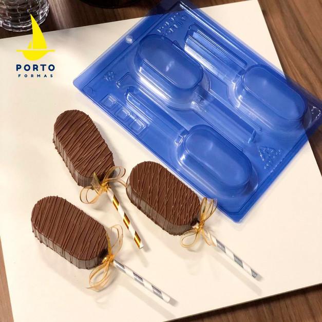 ''SPECIAL'' καλούπι σοκολάτας γλειφιτζούρια ''Popsicles'' - 3 τμημάτων_
