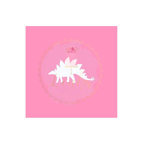 Στένσιλ δεινόσαυρος 3.