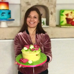 Σεμινάριο τούρτα με βουτυρόκρεμα