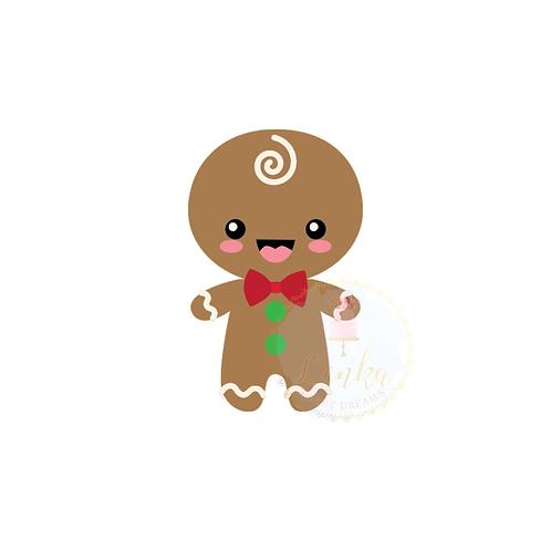 Κουπάτ gingerbread αγόρι.