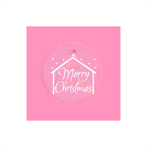 Στένσιλ Merry Christmas στάβλος με αστέρια.
