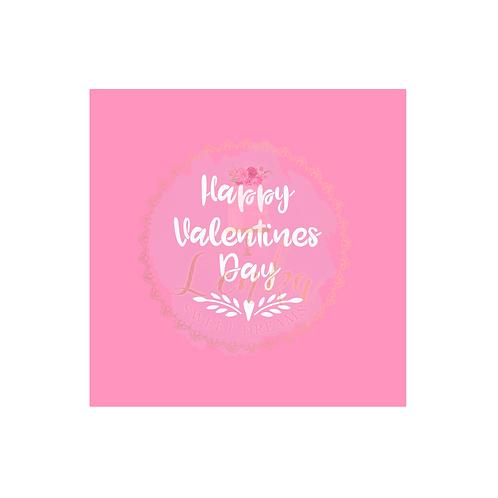 Στένσιλ  ''Happy valentines day ''