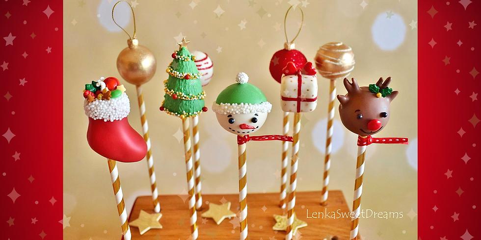 Χριστουγεννιάτικα Cake Pops.
