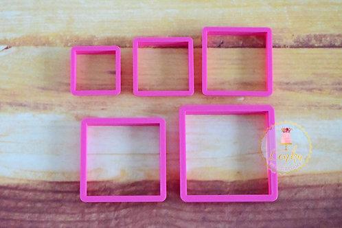 Κουπάτ τετράγωνα 5 τεμάχια.