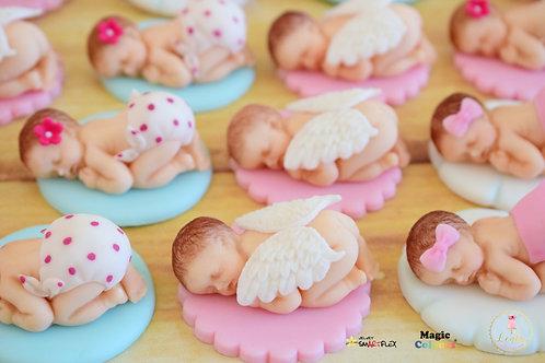 Μωράκια από ζαχαρόπαστα.