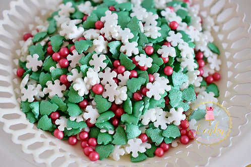 Sprinkles ''Merry Christmas''.