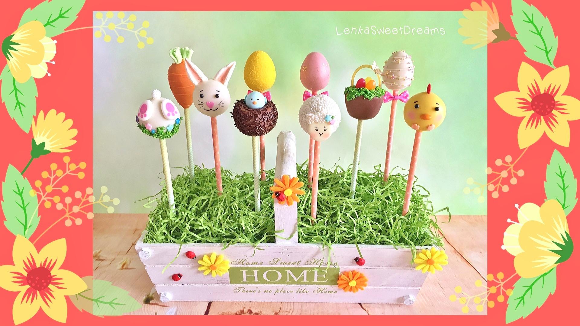Σεμινάριο Easter Cake Pops.  -Θεσσαλονίκη-
