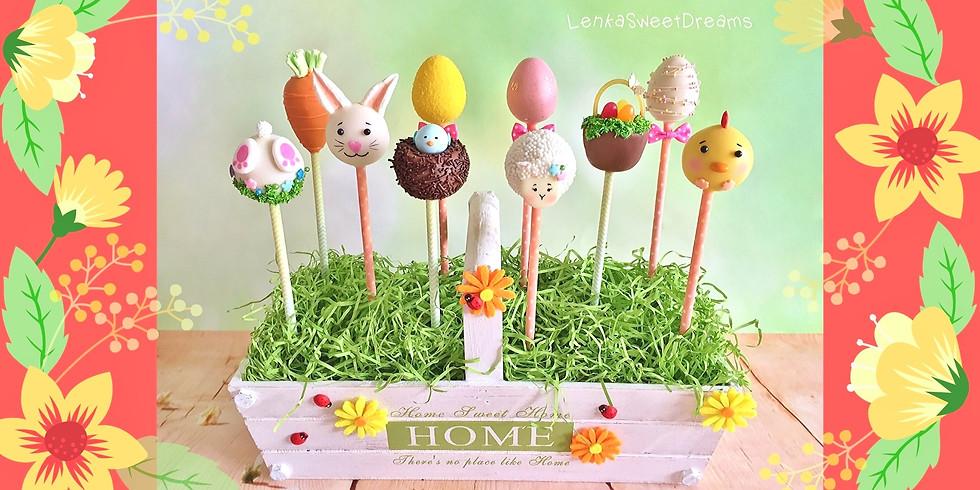 Σεμινάριο Easter Cake Pops. -Αθήνα-