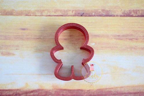 Κουπάτ gingerbread ανθρωπάκι.
