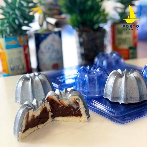 ''SPECIAL'' καλούπι σοκολάτας για γεμιστές τρούφες ''Margarita''- 3 τμημάτων_