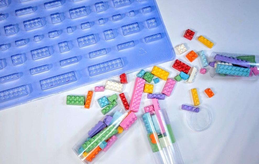 Καλούπι σοκολάτας κυβάκια ''Lego''