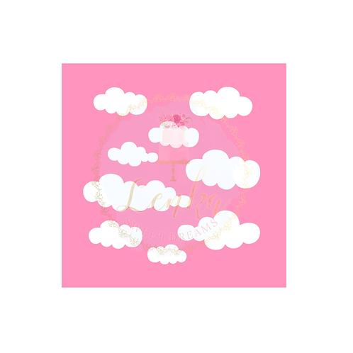 Στένσιλ σύννεφα.