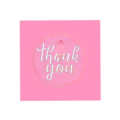 Στένσιλ ''thank you''.
