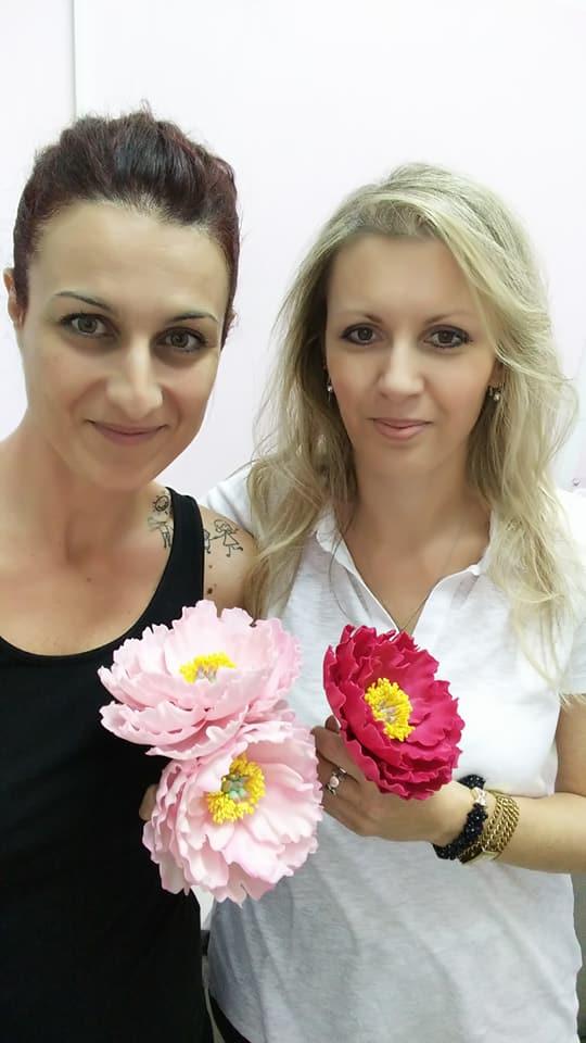 Σεμινάριο Λουλούδια από ζαχαρόπαστα