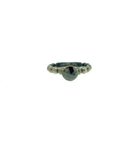 PitchBlack Bridal/Stackable Ring