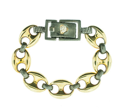 Vintage Gucci Link Bracelet with Claw Clasp