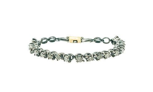 manVSwoman Gray Nebula Diamond Tennis Bracelet